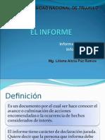 El Informe Academico y Tecnico