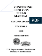 ENGINEERING GEOLOGY FIELD MANUAL