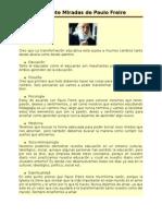 Tarea Las Siete Mirada de Paula Freire (Francis Pinto)