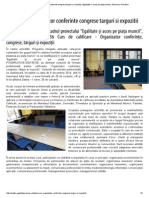 Debut Curs Organizator Conferinte Congrese Targuri Si Expozitii _ Egalitate Si Acces Pe Piața Muncii, Alba Iulia, România