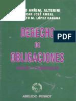Derecho de Obligaciones - Atilio Alterini Oscar Ameal Roberto l Pez