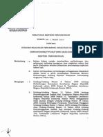 Permenhub No. PM 1 tahun 2013 tentang   standar pelayanan angkutan udara haji