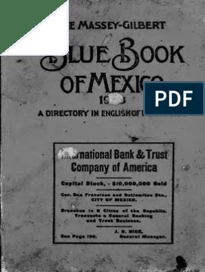 Guia Para El Extranjero en La CD de Mexico 1903 | Port