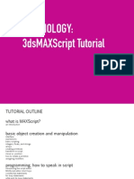 Maxscript Tutorial