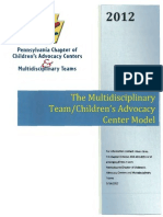 2012-05-14 - CAC Model - The Multidisciplinary Team