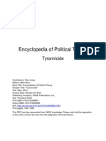 Tyrannicide - Encyclopedia