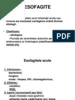 Curs Nr 1 Esofagite, Gastrite, Ulcer Gastric Si Duodenal