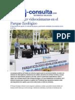 02-02-2015 E-consulta,Com - Instalan 50 Videocámaras en El Parque Ecológico