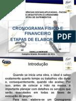 CRONOGRAMA FÍSICO E FINANCEIRO.ppt
