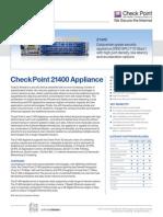 21400 Appliance Datasheet