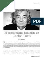 El Pensamiento Feminista de Carlos París