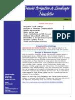 premier irrigation newsletter volume 12 02-04-15