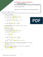 Lista Inequação Exponencial 2ªsérieBLOG MAT2- 2015