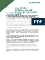 Del Desamor Al Ciber Despecho, Kaspersky Lab Ofrece Consejos Para Proteger Tu Vida Digital_1