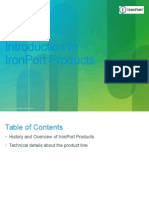 Introduction to IronPort Products