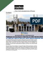 02-02-2015 ContrastesdePuebla,Com - Moreno Valle y Tony Gali Reinauguraron El Parque Ecológico