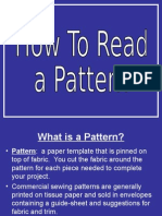 clothing i-how to read a pattern