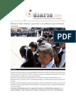03-02-2015 Reto Diario - Moreno Valle Instruye a Prevenir a La Población Por Tormenta Invernal