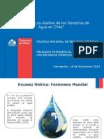 Los dueños de los Derechos de Agua en Chile