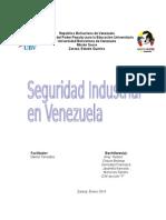 Antecedentes de La Seguridad Industrial en Venezuela Nelson