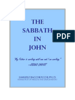 The Sabbath in the Gospel of JOHN
