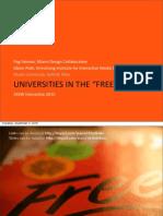 Universities in the Free Era - SXSW Presentation