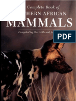 2242 the Complete Book of Southern African Mammals