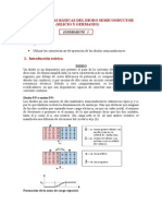 caracteristicas basicas diodo semiconductor (Si y Ge)