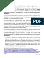 Posicionamiento Ayotzinapa 20150205 IFAI
