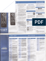 Manual Controle Remoto NET