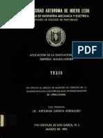 Tesis Aplicacion Simulacion en Maquiladora