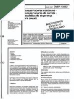 NBR-13862_1997 - Transportadores Contínuos - Transportadores de Correias - Requisitos de Segurança Para o Processo