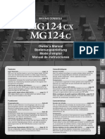 Mg124cx Manual