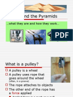 pulleys and pyramids