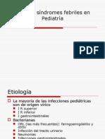 Fiebre y Sindromes Febriles en Pediatria