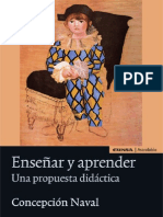 Enseñar y Aprender_ Una Propuesta Didactia en Docencia Universitaria