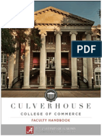 Culverhouse Faculty Handbook