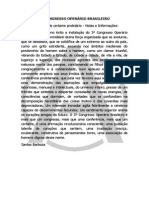 3º Congresso Operário Brasileiro