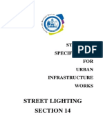 lighting design specs
