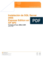 TN2006.3.009 - Instalación de SQL Server 2005 Express Edition en Windows XP SP3.pdf