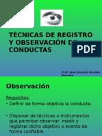 Tecnicas de Registros y Confiabilidad