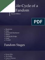 Lifecycle of Fandom