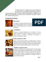 Elaboración y Comparación Del Nivel de Alcohol Entre El Whisky y El Vodka