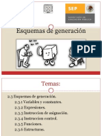 2.3 Esquemas de Generacion