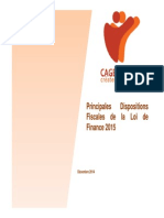 Dispo Fiscales de La LF 2015