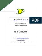 Hispania Nova, Nº 8, 2008 - 1807-1814. Península Ibérica y Colonias Americanas
