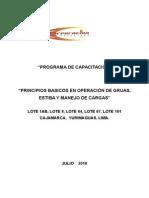 Manual de Capacitación Gruas & Riggers