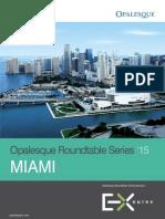 Opalesque 2015 Miami Roundtable
