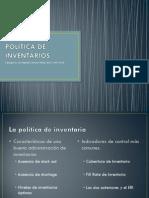 4-Politica de Inventarios