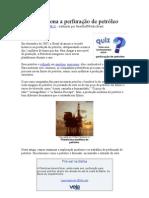 Como funciona a perfuração de petróleo